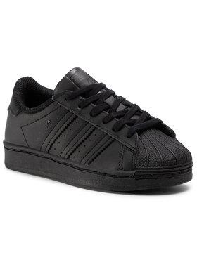 adidas adidas Chaussures Superstar C FU7715 Noir