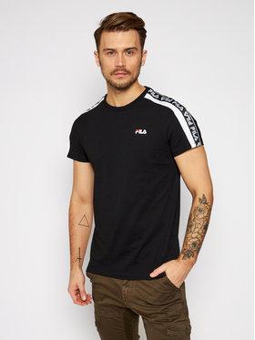 Fila Fila T-Shirt Thanos 687700 Czarny Regular Fit