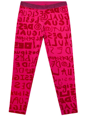 Desigual Desigual Leggings Monogram 20WGKK04 Rosa Slim Fit