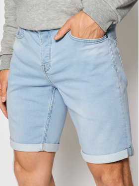Only & Sons ONLY & SONS Дънкови шорти Ply 22018587 Син Regular Fit