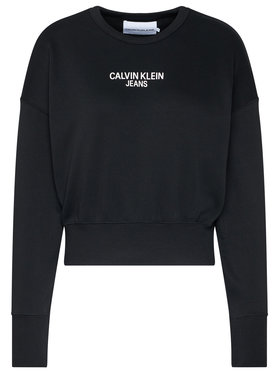 Calvin Klein Jeans Calvin Klein Jeans Bluză J20J214431 Negru Regular Fit