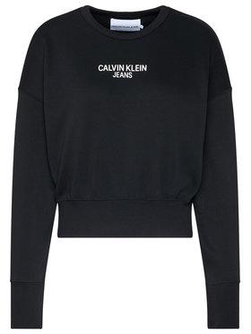 Calvin Klein Jeans Calvin Klein Jeans Pulóver J20J214431 Fekete Regular Fit