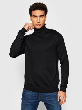 Only & Sons Only & Sons Pull à col roulé Wyler 22020879 Noir Regular Fit