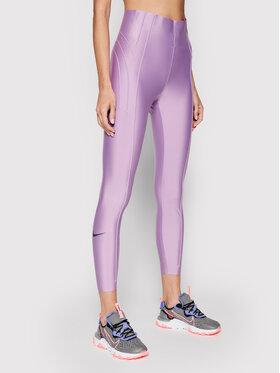 Nike Nike Leggings City Ready CU5102 Ljubičasta Slim Fit