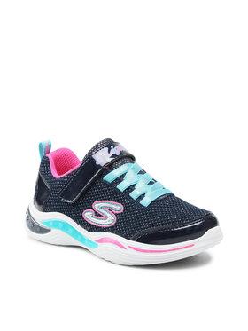 Skechers Skechers Sneakersy Glitzy Petals 996472L/NVMT Granatowy