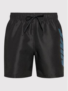 Nike Nike Szorty kąpielowe Rift Breaker NESSA571 Czarny Regular Fit