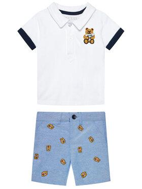 Guess Guess Set Polohemd und Shorts I1RG20 K9NJ0 Bunt Regular Fit