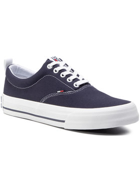 Tommy Jeans Tommy Jeans Гуменки Classic Low Tommy Jeans Sneaker EM0EM00405 Тъмносин