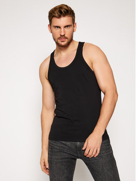 Dsquared2 Underwear Dsquared2 Underwear Tank top D9D203180 Μαύρο Slim Fit