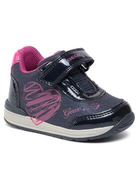 Geox Geox Sneakersy B Rishon G. B B940LB 0BLHI C4268 Tmavomodrá