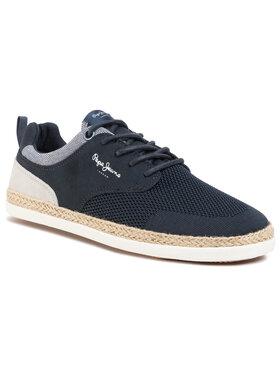 Pepe Jeans Pepe Jeans Espadrillas Maui Sport Knit PMS10284 Blu scuro