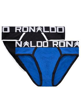 Cristiano Ronaldo CR7 Cristiano Ronaldo CR7 Komplet 2 par slipów CR7-66 Czarny