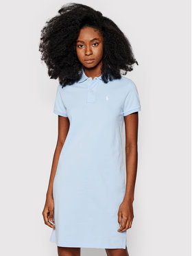 Polo Ralph Lauren Polo Ralph Lauren Sukienka codzienna 211799490008 Niebieski Regular Fit