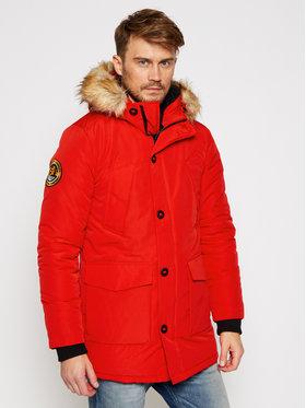 Superdry Superdry Kurtka zimowa Everest M5010204A Czerwony Regular Fit