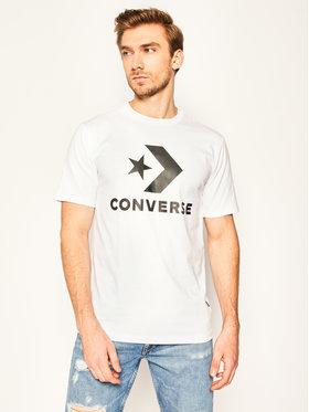 Converse Converse T-Shirt Star Chevron 10018568-A02 Bílá Regular Fit