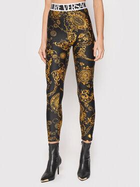 Versace Jeans Couture Versace Jeans Couture Leggings Regalia Baroque 71HAC101 Schwarz Slim Fit
