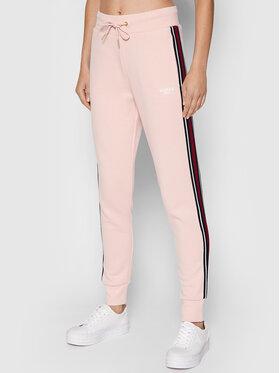 Guess Guess Spodnie dresowe Abigail O1RA32 K9Z21 Różowy Regular Fit