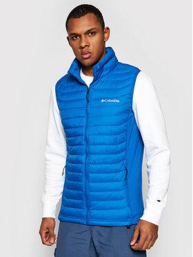 Columbia Columbia Gilet Powder Pass Vest 1842414 Bleu marine Regular Fit