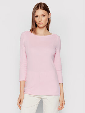 United Colors Of Benetton United Colors Of Benetton Bluzka 3GA2E16A1 Różowy Regular Fit