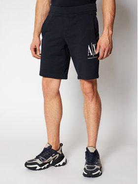 Armani Exchange Armani Exchange Sportske kratke hlače 8NZSPA ZJ1ZZ 1510 Tamnoplava Regular Fit