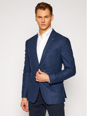 Tommy Hilfiger Tailored Tommy Hilfiger Tailored Sacou Flex TT0TT08454 Bleumarin Regular Fit