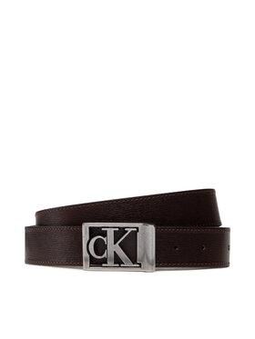 Calvin Klein Jeans Calvin Klein Jeans Pasek Męski Plaque Square Classic 35mm K50K507244 Brązowy