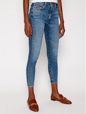 Tommy Jeans Tommy Jeans Super Skinny Fit džínsy Sylvia DW0DW09429 Modrá Super Skinny Fit
