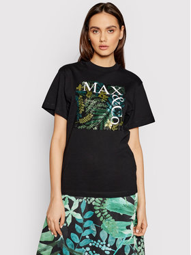 MAX&Co. MAX&Co. T-shirt Teerex1 69718521 Nero Regular Fit