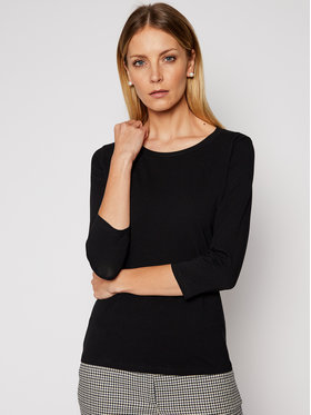 Weekend Max Mara Weekend Max Mara Bluză Multia 59710117 Negru Regular Fit