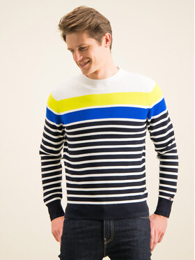 TOMMY HILFIGER TOMMY HILFIGER Maglione Breton Striped MW0MW12282 Multicolore Regular Fit