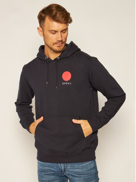 Edwin Edwin Sweatshirt Japanese Sun I028533 TJ1871P 8967 Noir Regular Fit