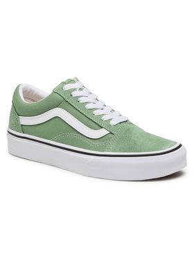 Vans Vans Sneakers aus Stoff Old Skool VN0A3WKT4G61 Grün