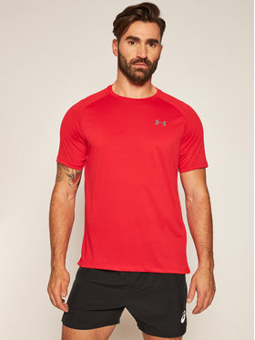 Under Armour Under Armour Φανελάκι τεχνικό Ua Tech™ 2.0 1326413 Κόκκινο Loose Fit