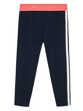 4F 4F Leggings HJL21-JLEG004 Bleu marine Slim Fit