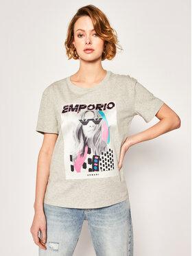 Emporio Armani Emporio Armani T-shirt 3H2T7M 2J53Z 0616 Gris Regular Fit