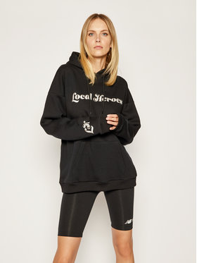 Local Heroes Local Heroes Bluză Caligraphy Hoodie AW2021S0008 Negru Regular Fit