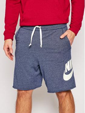 Nike Nike Sportiniai šortai Sportswear Alumni AR2375 Tamsiai mėlyna Loose Fit