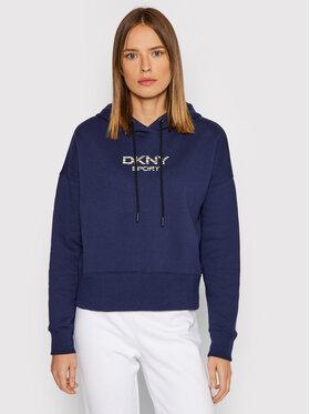 DKNY Sport DKNY Sport Bluza DP1T8221 Granatowy Relaxed Fit