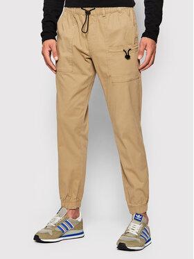 Outhorn Outhorn Spodnie materiałowe SPMC601 Beżowy Regular Fit