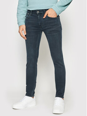 Pepe Jeans Pepe Jeans Jeansy Finsbury PM200338 Granatowy Skinny Fit