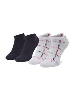 Tommy Hilfiger Tommy Hilfiger Комплект 2 чифта къси чорапи мъжки 100002658 Бял