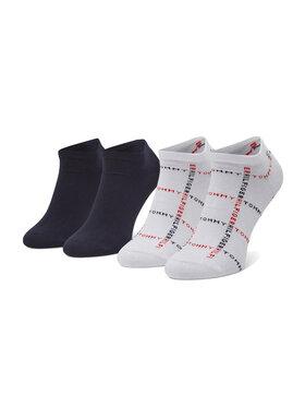 Tommy Hilfiger Tommy Hilfiger Sada 2 párů pánských nízkých ponožek 100002658 Bílá