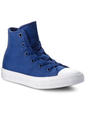 Converse Converse Sneakers aus Stoff Ctas II Hi 350146C Dunkelblau