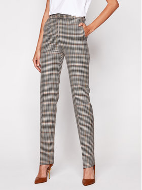 Victoria Victoria Beckham Victoria Victoria Beckham Pantaloni din material 2420WTR002180A Colorat Regular Fit