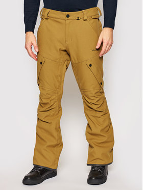 Volcom Volcom Snowboardové nohavice Articulated G1351908 Hnedá Slim Fit