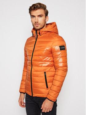 Calvin Klein Calvin Klein Kurtka puchowa K10K105963 Pomarańczowy Regular Fit