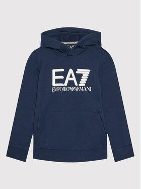EA7 Emporio Armani EA7 Emporio Armani Bluza 6KBM56 BJ07Z 1554 Granatowy Regular Fit