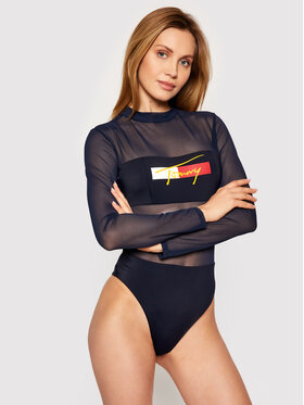 Tommy Jeans Tommy Jeans Maillot de bain femme Fashion UW0UW02946 Bleu marine