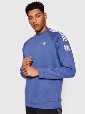 adidas adidas Bluză 3D TF 3 Strp Cr GN3556 Bleumarin Regular Fit