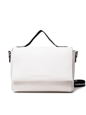 Calvin Klein Jeans Calvin Klein Jeans Дамска чанта Small Satchel K60K608267 Бял